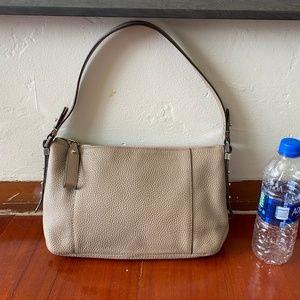 Beige Handbag by MK